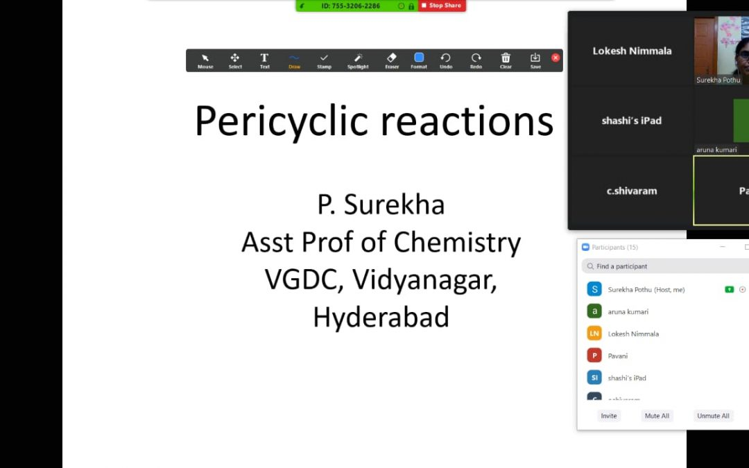 "Webinar on ""Pericyclic Reactions"""