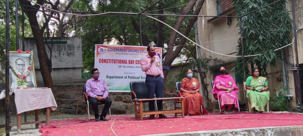 Constitution Day-2020 celebrations at GDCK